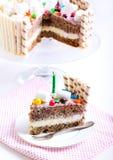 Banana layered cake Royalty Free Stock Image