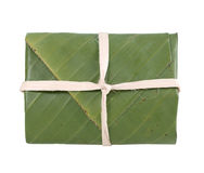 Banana leaf package Royalty Free Stock Image