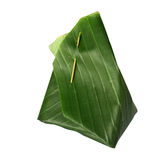 Banana leaf packaging Stock Photography