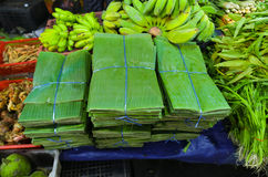 Banana leaf on sale Stock Image