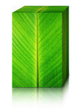 Banana leaves box Stock Photo