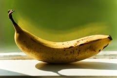 Banana on Ledge Stock Photos