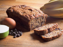 Banana loaf Stock Photography