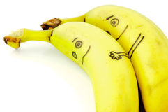 Banana Love Stock Image