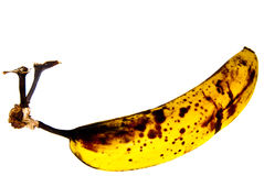 Banana madura Fotos de Stock