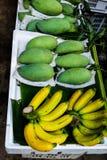 Banana and mango Royalty Free Stock Photos