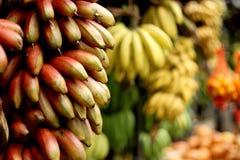 Banana market Stock Photos