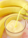 Banana Milkshake Stock Photography