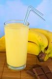Banana Milkshake Royalty Free Stock Photos