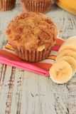 Banana muffin Royalty Free Stock Photo