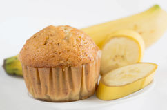 Banana muffin Stock Image