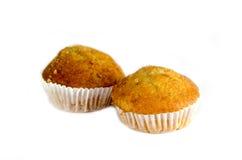 Banana muffin cake Royalty Free Stock Photography