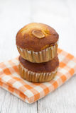 Banana muffin cake Royalty Free Stock Image