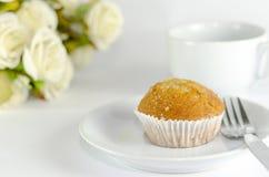 Banana muffin cake Stock Photography