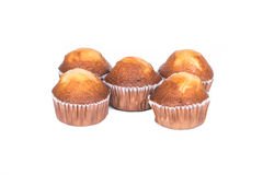 Banana muffin cakes Stock Photo