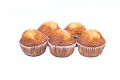 Banana muffin cakes Stock Images
