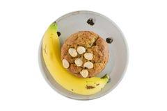 Banana muffin Royalty Free Stock Photos