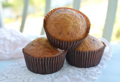 Banana muffins Royalty Free Stock Photo