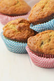 Banana muffins Stock Photo
