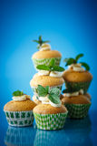 Banana muffins Royalty Free Stock Photos