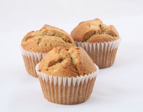 Banana muffins Royalty Free Stock Photography