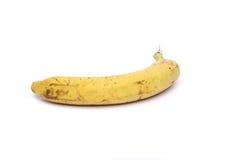 Banana não tão fresca Fotografia de Stock