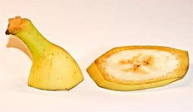 Banana nel fondo Immagine Stock Libera da Diritti