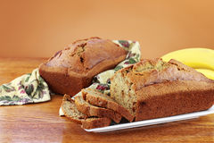 Banana Nut Bread Royalty Free Stock Photos