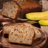 Banana Nut Bread Stock Image