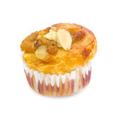 Banana nut muffin Royalty Free Stock Images
