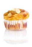 Banana nut muffin Royalty Free Stock Photos