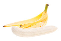 Banana open Stock Image