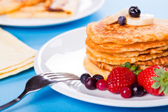 Banana Pancakes Royalty Free Stock Image