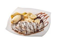Banana pastry Stock Photos