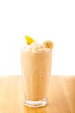 Banana Peach Smoothie Royalty Free Stock Photo