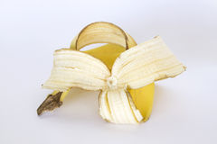 A banana peel. Royalty Free Stock Image