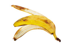 Banana peel Stock Images