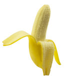 Banana peel with clipping path Royalty Free Stock Images