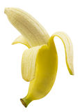 Banana peel with clipping path Stock Images