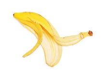 Banana peel. Isolated on white background Stock Photo