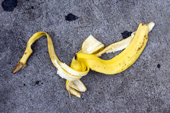 Banana Peel Stock Photo