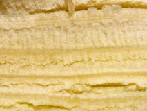 Banana peel texture Royalty Free Stock Photography