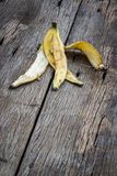 Banana peel Royalty Free Stock Photo