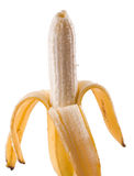 Banana peeled Royalty Free Stock Photos