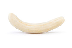 Banana peeled Royalty Free Stock Images