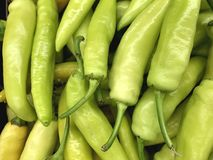 Banana Pepper Background Royalty Free Stock Photography