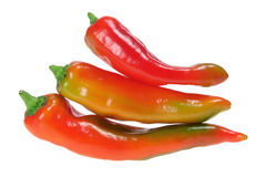 Banana Pepper Chillies Royalty Free Stock Images