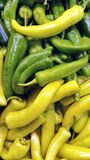 Banana Peppers Stock Photo