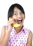 Banana Phone (series) Stock Photo