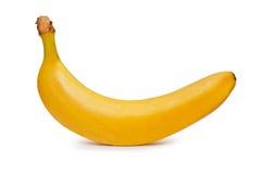 Banana. It is photography of one banana stock photo